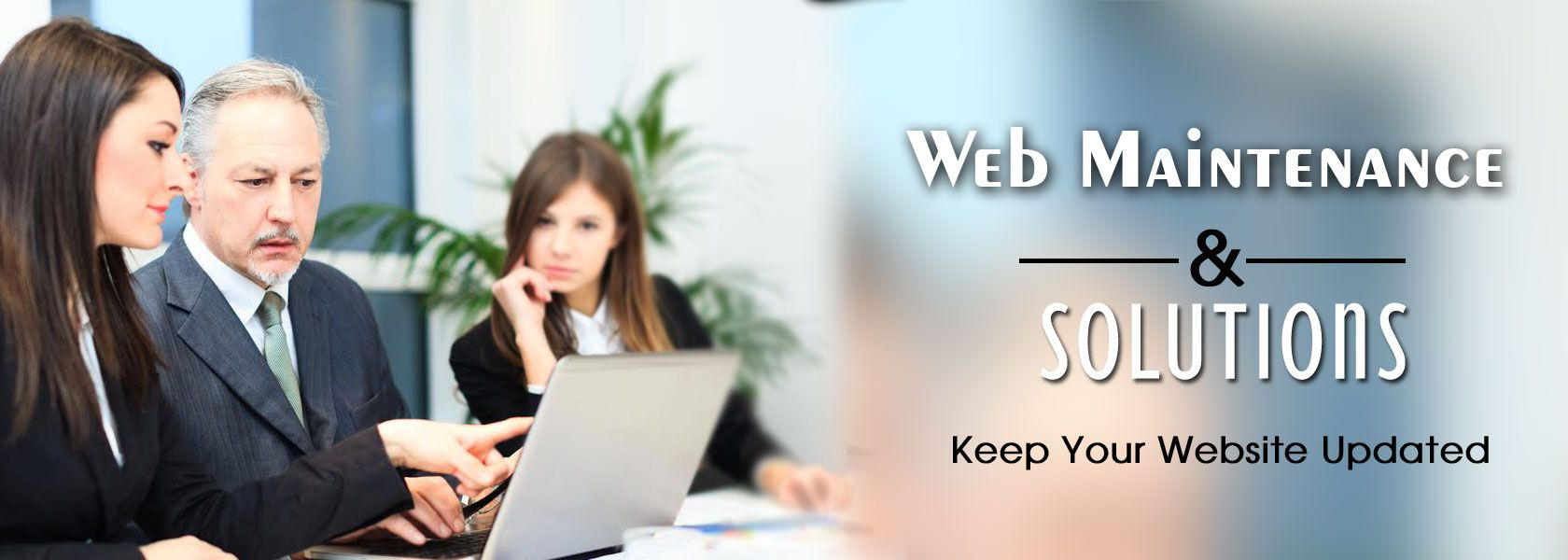 web maintenance services