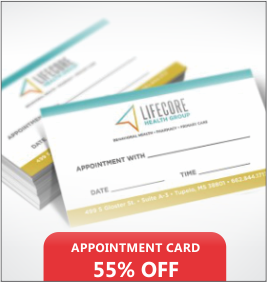 Appointment Cards Designing & Printing services
