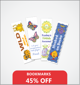 Bookmarks Designing & Printing Services