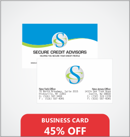 Business Card Designing & Printing in New York