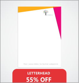 Letterheads Designing & Printing Services