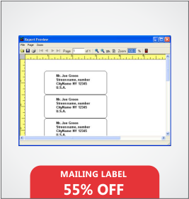 Mailing Labels Designing & Printing Services