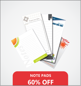 Note Pads Designing & Printing Services