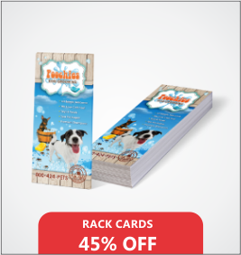 Rack Cards Designing & Printing Services