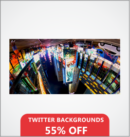 Twitter Backgrounds Designing