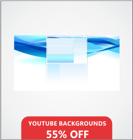 YouTube Backgrounds Designing