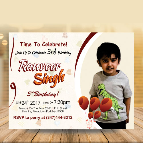 Invitation Card Designer